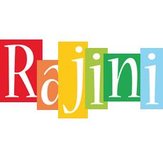 Rajini colors logo