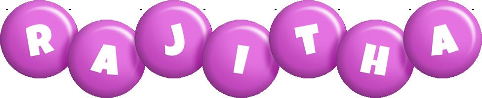 Rajitha candy-purple logo