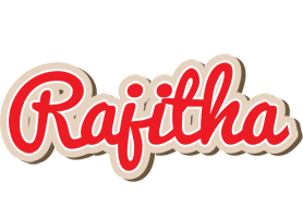 Rajitha chocolate logo