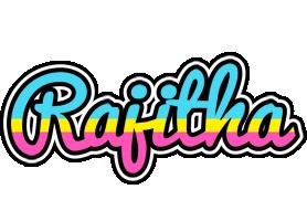 Rajitha circus logo