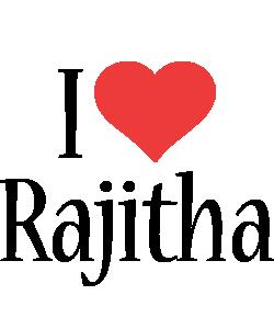 Rajitha i-love logo