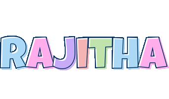 Rajitha pastel logo