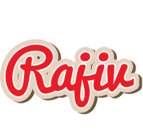 Rajiv chocolate logo