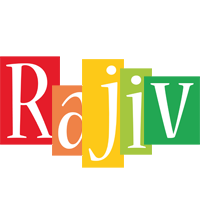 Rajiv colors logo