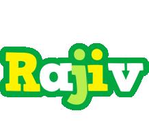Rajiv soccer logo
