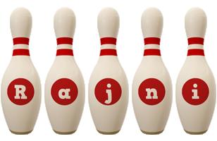 Rajni bowling-pin logo