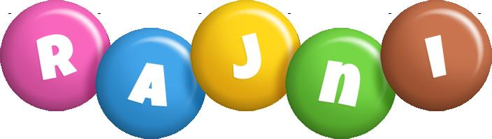 Rajni candy logo