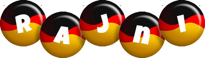 Rajni german logo