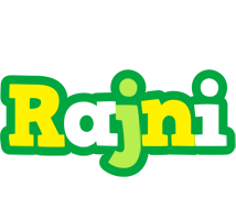 Rajni soccer logo