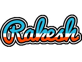 Rakesh america logo