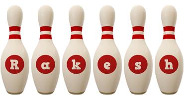 Rakesh bowling-pin logo