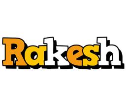 Rakesh cartoon logo