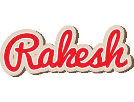 Rakesh chocolate logo