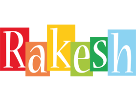 Rakesh colors logo