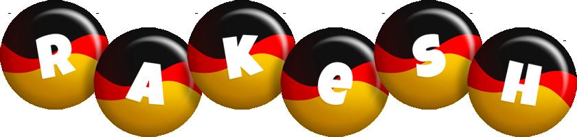 Rakesh german logo