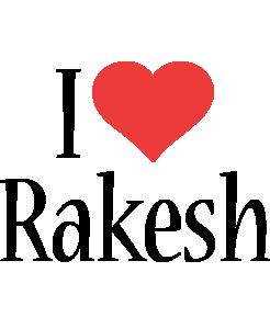 Rakesh i-love logo
