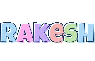Rakesh pastel logo