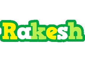 Rakesh soccer logo