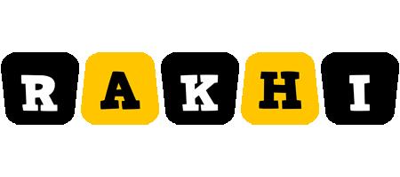 Rakhi boots logo