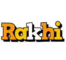 Rakhi cartoon logo