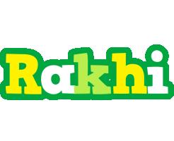 Rakhi soccer logo
