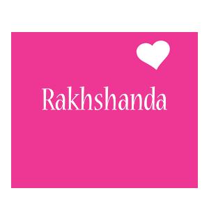 rakshanda name