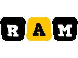Ram boots logo