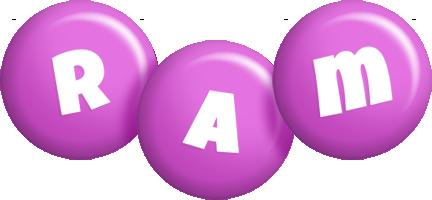 Ram candy-purple logo