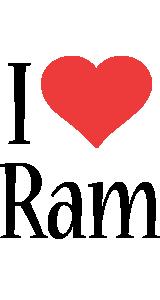 Ram i-love logo