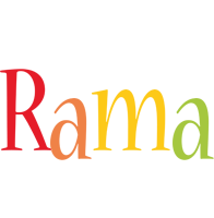 Rama birthday logo