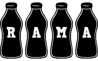 Rama bottle logo