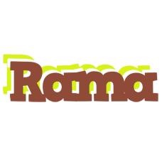 Rama caffeebar logo
