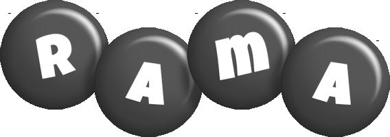 Rama candy-black logo