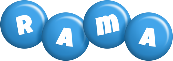 Rama candy-blue logo