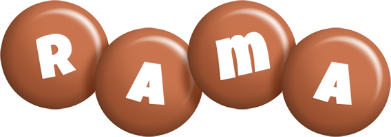 Rama candy-brown logo