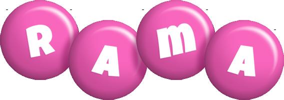 Rama candy-pink logo