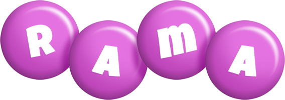 Rama candy-purple logo