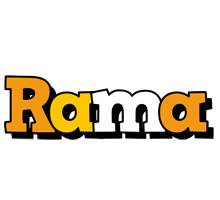 Rama cartoon logo