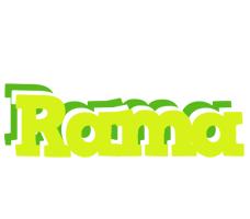 Rama citrus logo