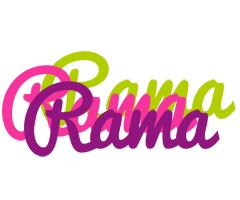 Rama flowers logo