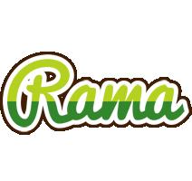 Rama golfing logo
