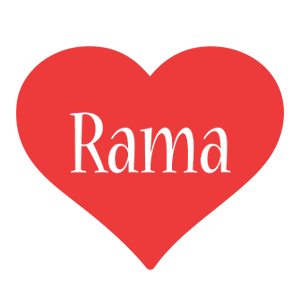 Rama love logo