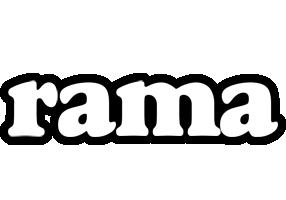 Rama panda logo