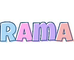 Rama pastel logo