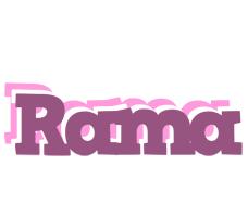 Rama relaxing logo