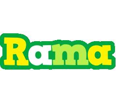 Rama soccer logo