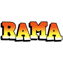 Rama sunset logo