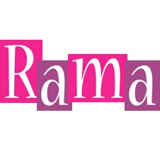 Rama whine logo