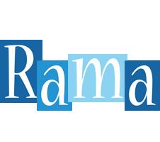 Rama winter logo