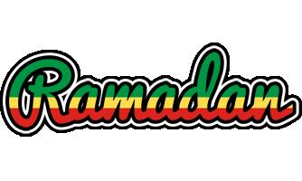 Ramadan african logo
